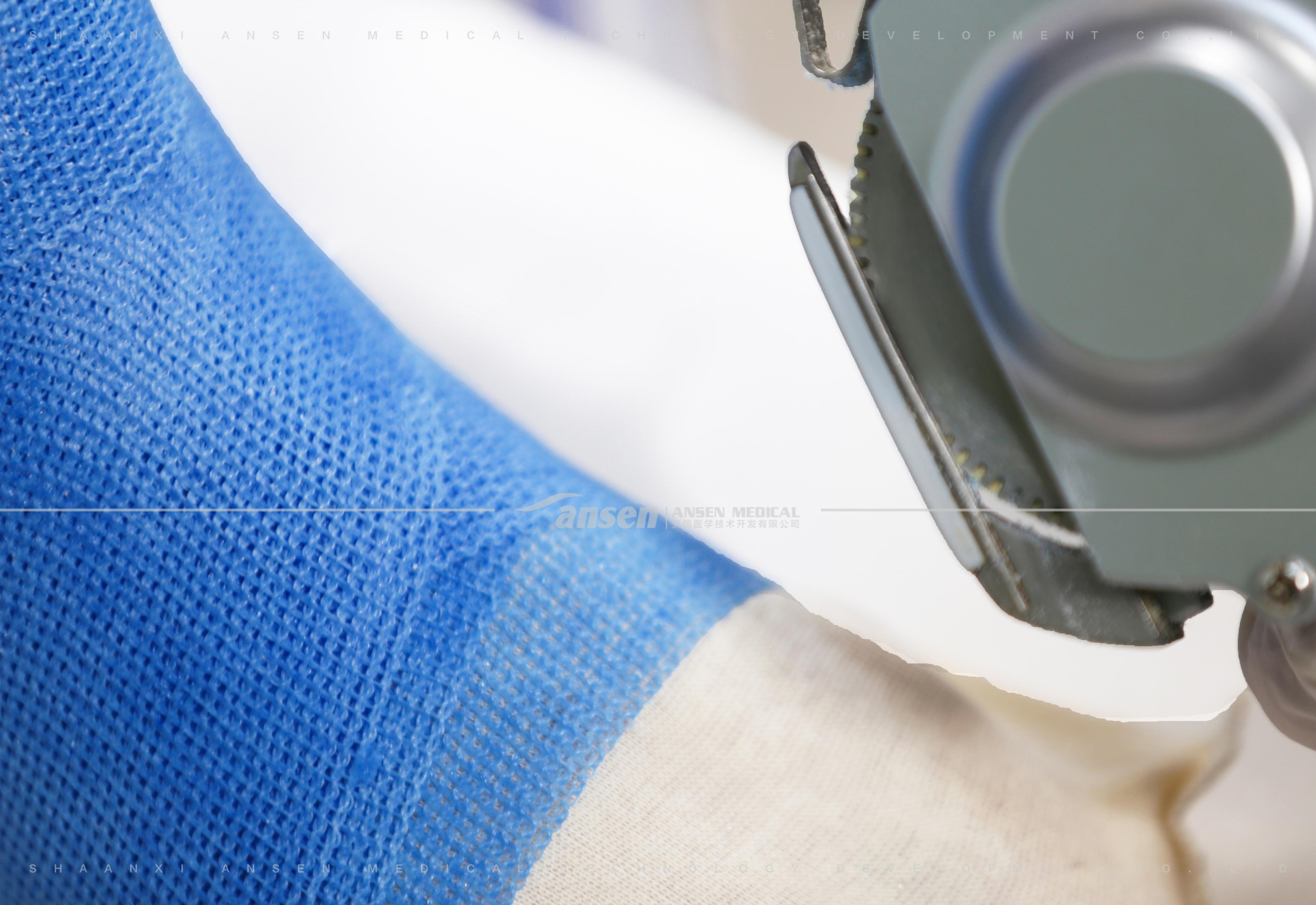 使用高分子绷带时要戴手套?